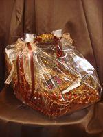 """Корзина """"Эксклюзив"""" с кофе и шоколадом - подарочный набор № 61"""