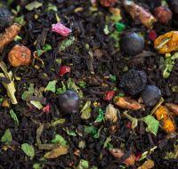 Таежное озеро - черный чай с натуральными растительными ингредиентами.