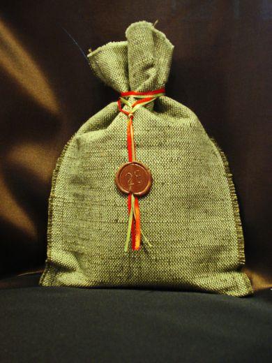 Мешочек с чаем (100 г.) - подарочный набор №28Б